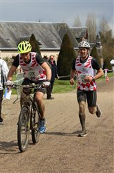 Loic et Jean Charles sur un Run and bike
