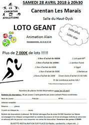 LOTO DU CS CARENTAN ATHLE